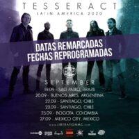 Tesseract remarca datas na américa latina para 2020