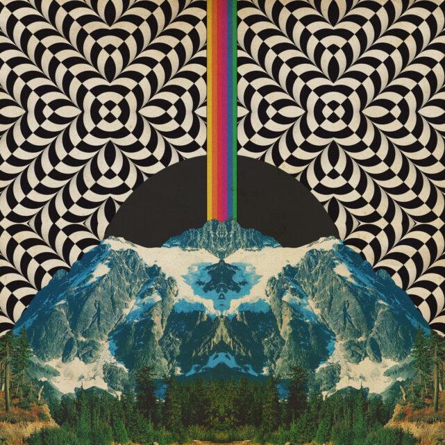 """""""Spirit Glow"""", arte da capa. DG Solaris / Divulgação."""