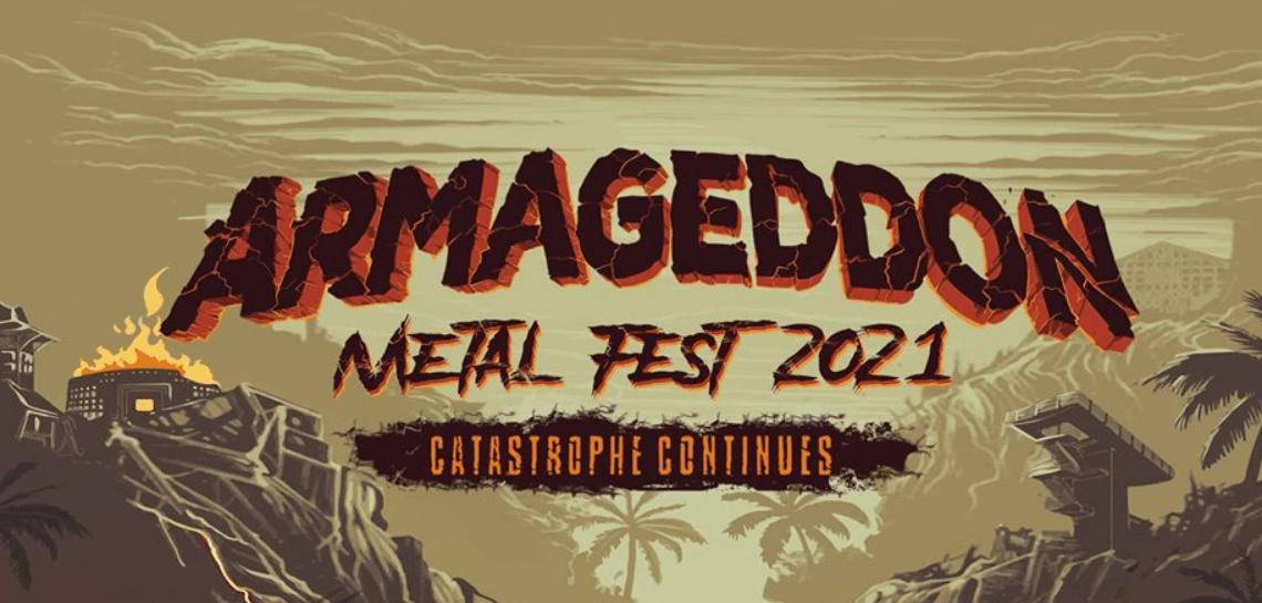 flyer do armaggedon metal fest 2021
