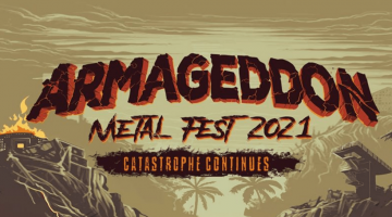 flyer do armaggedon metal fest 2021
